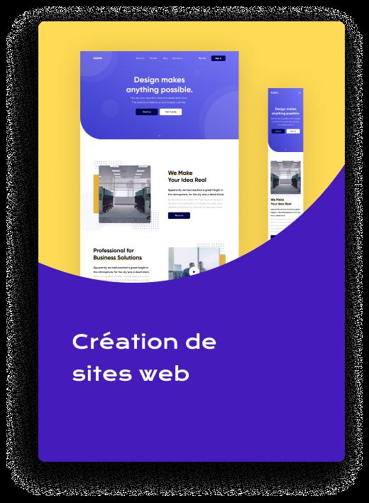 création site web bruxelles