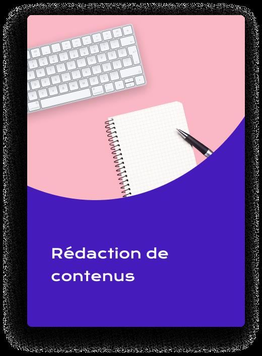 rédaction de contenus